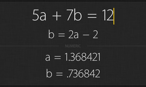 Archimedes is a free graphing calculator app for iOS & Android that can solve systems of equations