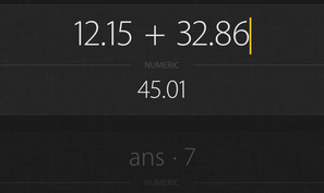Archimedes is a free graphing calculator app for iOS & Android that updates calculations automatically when needed
