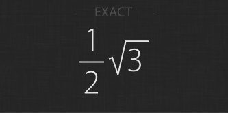 Numeric and exact answers
